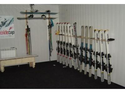 Гостиница «Фотон» |  комната для хранения и сушки горнолыжного снаряжения